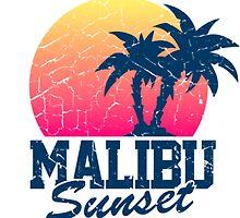 Sunset Malibu  by younesalla