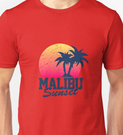 Sunset Malibu  Unisex T-Shirt