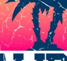 Sunset Malibu  Sticker