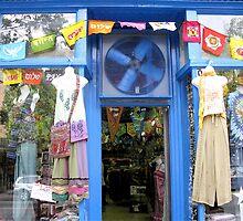 Blue Storefront by Hank Eder