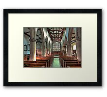 St Andrew Church - Dent,Cumbria Framed Print