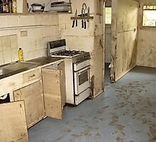 Brisbane Floods 2011 - Clean Up - The Granny Flat by Neil Ross