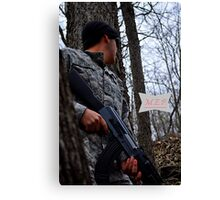 Hiding from the Enemy Canvas Print