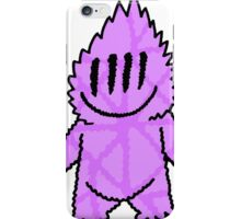 Imagination Fuzz Clown Purple iPhone Case/Skin