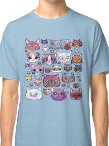 Feline Faces Classic T-Shirt