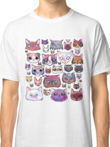Feline Faces Classic T-Shirt