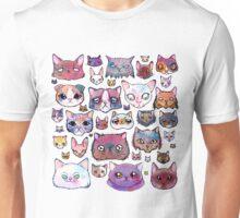 Feline Faces Unisex T-Shirt