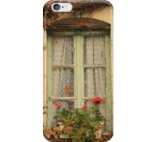 French Cottage Window iPhone Case/Skin