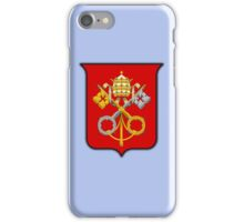 Papal Coat of Arms for Pope Francis (large) iPhone Case/Skin