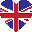 Union Jack Heart by imaginarystory