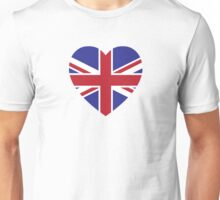 Union Jack Heart Unisex T-Shirt