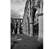 Rieveaulx Abbey Photographic Print