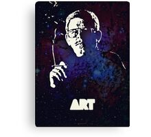 Icons - Art Bell Canvas Print