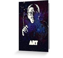 Icons - Art Bell Greeting Card