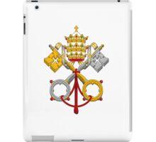 Papal Coat of Arms crossed keys iPad Case/Skin
