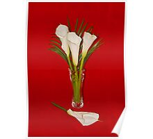 *HAPPY EASTER* with Arum Lilies Poster