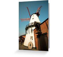 Marsh Mill Thornton England Greeting Card