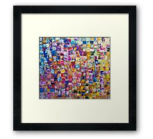 7: 270 Framed Print