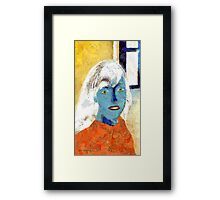 Paper Woman No. 2 Framed Print