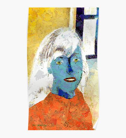 Paper Woman No. 2 Poster