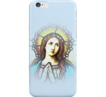 Stained glass window graphic iPhone Case/Skin