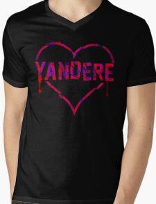Yandere Mens V-Neck T-Shirt