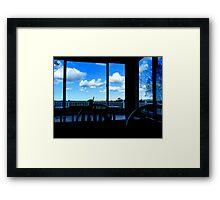 Corner Table Framed Print
