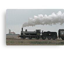 65462 Steam Locomotive Canvas Print
