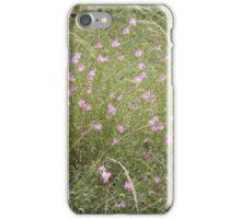 Purple Gerardia Bush iPhone Case/Skin