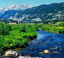 Rocky Mountain National Park by Karen  Rubeiz