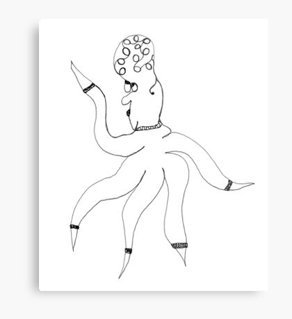 Wilma Whimsy Metal Print
