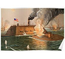 Battle of Hampton Roads Poster
