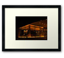 Relaxation at the Salthouse Harbour Hotel Framed Print