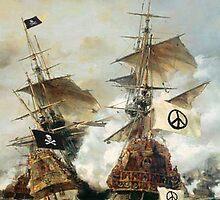 make peace pirate! by cedmars