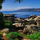Rocks in front of the Bay by Daidalos