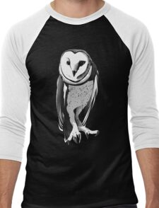Just Owl Men's Baseball ¾ T-Shirt