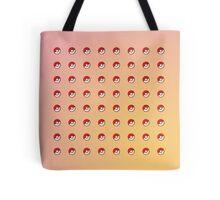 Pink Pokeball Pattern Tote Bag