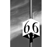 Lucky Number 6 Photographic Print