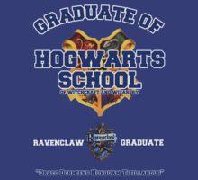 Graduate of Hogwarts School - Ravenclaw