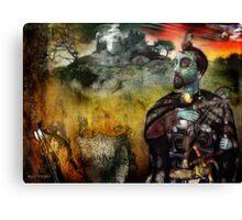 Mystical Adventures (art & poetry) Canvas Print