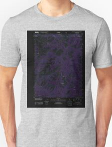 USGS Topo Map California High Plateau Mountain 20120323 TM Inverted T-Shirt