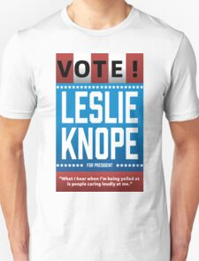 Leslie Knope For President T-Shirt