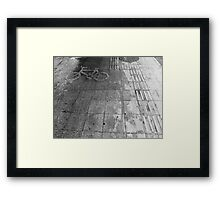 Exclusively Bikes Framed Print