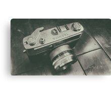 Yashica camera Canvas Print