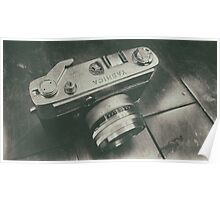 Yashica camera Poster