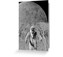 They Only Come Out At Night Greeting Card