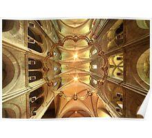 Basilique Saint Rémi, Reims Poster