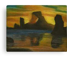The Light Shinning Through Canvas Print
