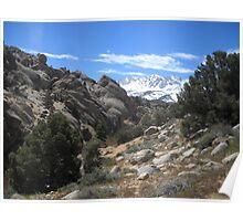 Sierras Peaking Poster