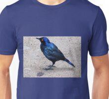 Blue starling / Blou spreeu Unisex T-Shirt